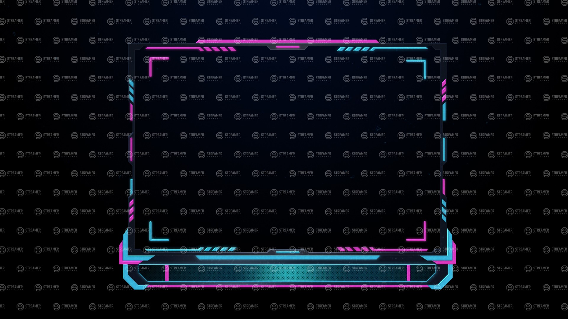 gradient webcam overlay streamer overlays