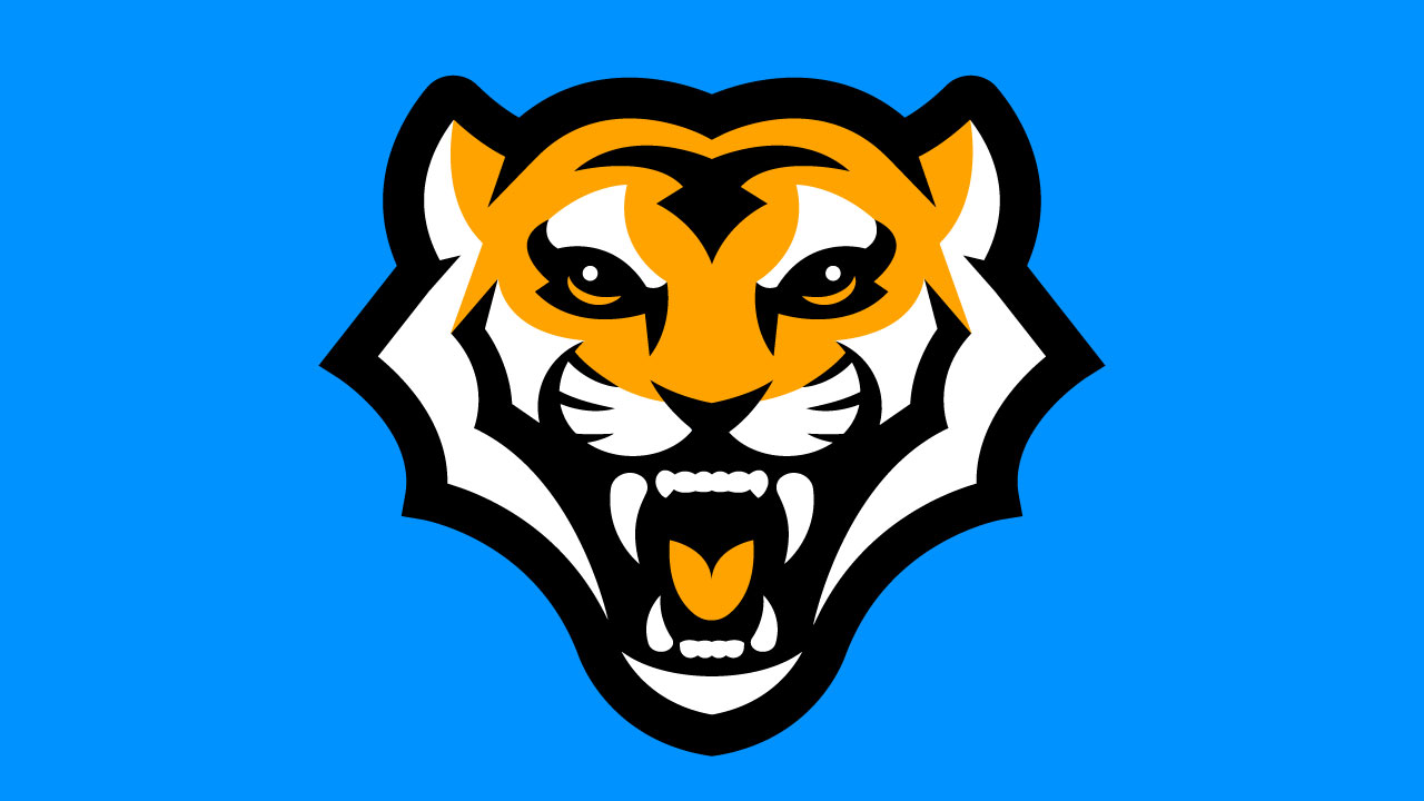 tiger mascot logo for sale Streamer overlays premade mascot esports logos for sale