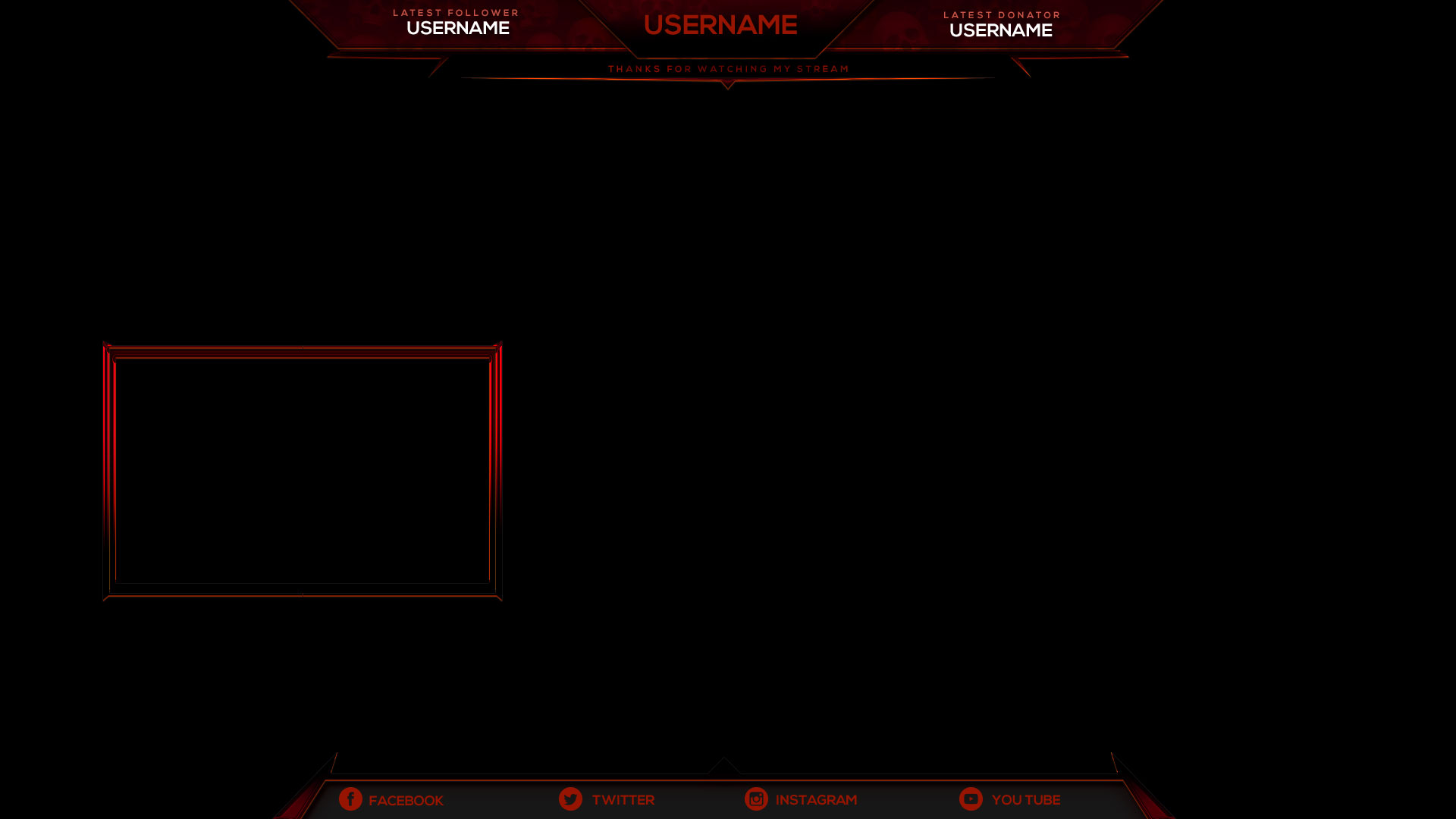 Mythic Stream Overlay - Streamer overlays sell & buy esports graphics