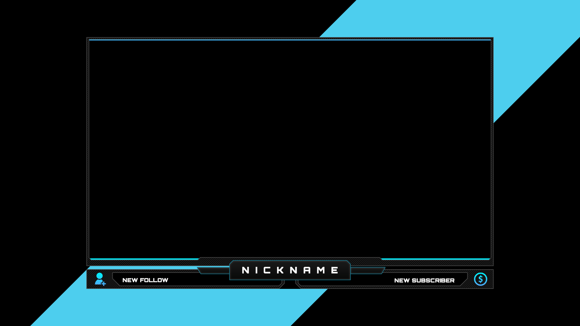 Webcam Stream Overlay | Streamer Overlays