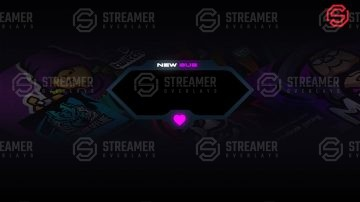 New prime twitch alerts Streamer Overlays
