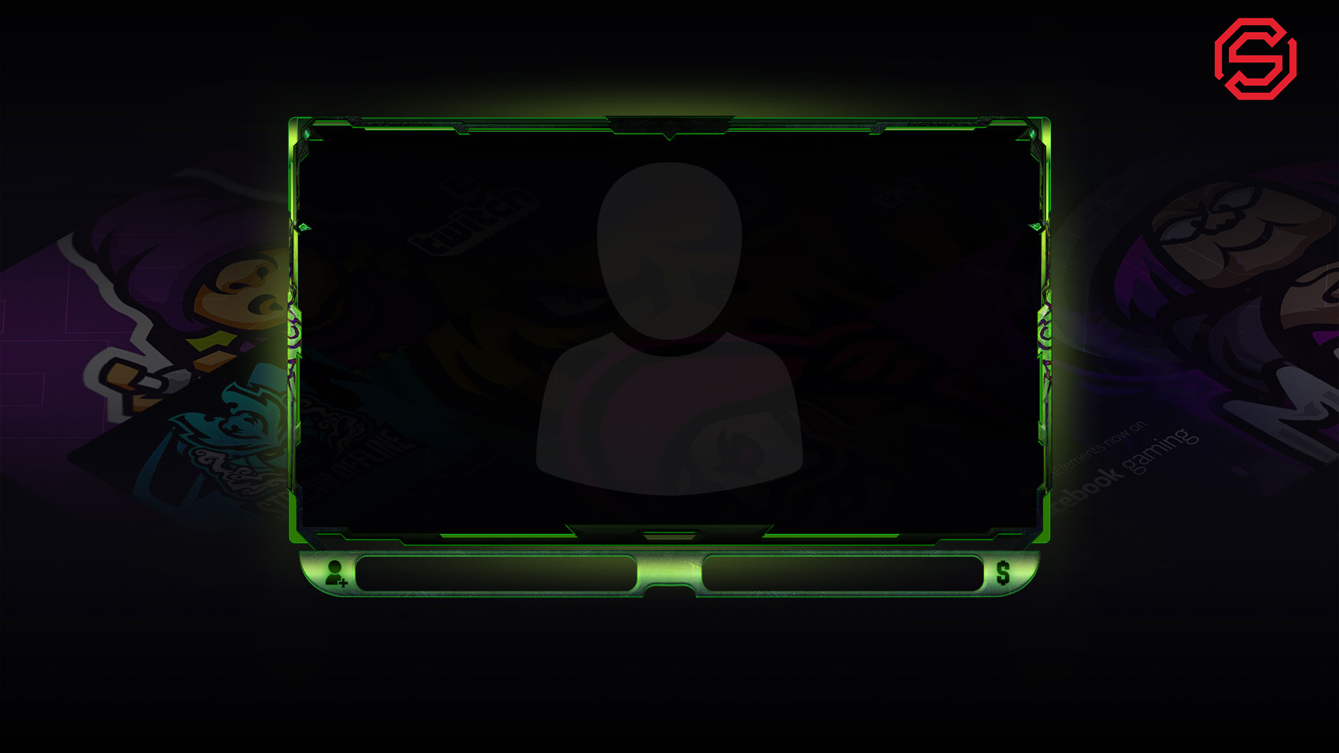 The Burning Crusade Webcam Overlay - Animated webcam overlay for World of Warcraft Streamer Overlays